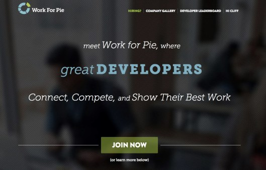 Work for Pie